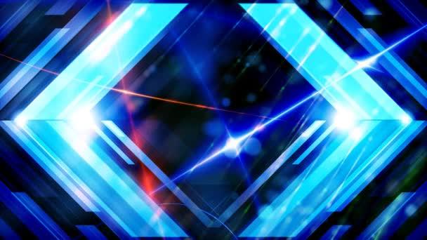 Energiefarben weht ein Strom leuchtender Teilchen, ein Kreislauf aus leuchtenden Teilchen. Lichteffekte bewegen und flexible Linien in abstraktem Stil. Energiegewinnmeditation