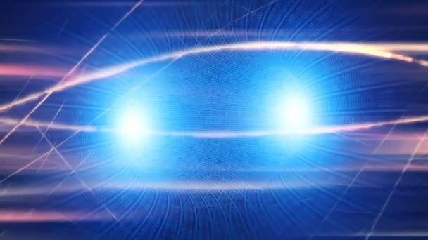 Az energiaszínek fényrészecskék áradatát, a fényrészecskék áradatát jelzik. fény hatások mozgó és rugalmas vonalak elvont stílusban. nyereségenergia meditáció