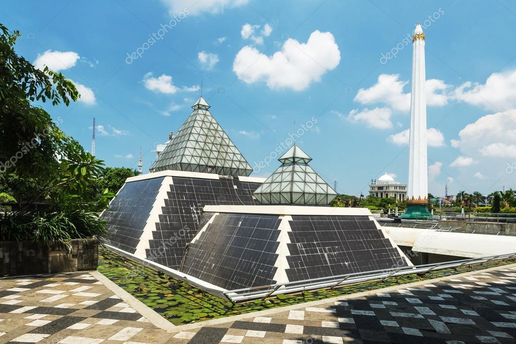 museum tugu pahlawan in surabaya east java indonesia stock photo