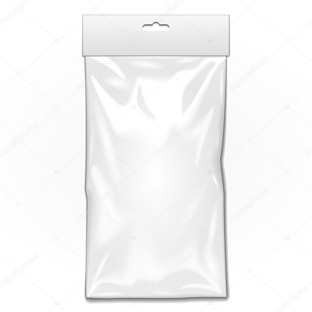 1b45ad1b7744a Transparent. With Hang Slot. Illustration Isolated On White Background.  Mock Up Template Ready For Your Design. Vector EPS10 — Vector by Mr.Pack|  ...