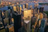 Fotografie Atraktivním centru města New York