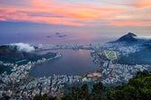 Fotografie Night view of  Rio de Janeiro