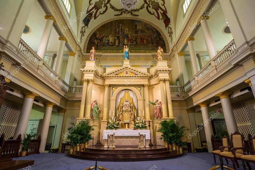 Interno della cattedrale di st louis a jackson square new for Nuovi piani domestici di new orleans