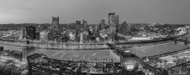 Panorama of downtown Pittsburgh