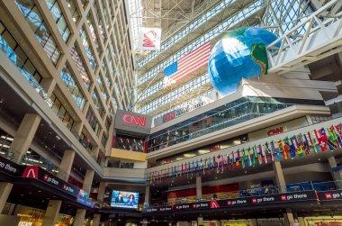 Interior of CNN Center in Atlanta