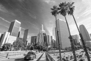 Downtown LA Los Angeles skyline