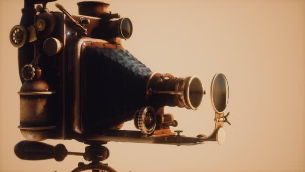 Starožitné staré retro foto Fotoaparát