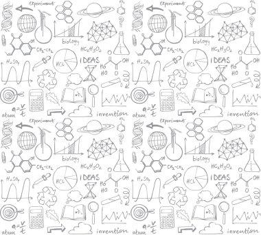 Science doodle set