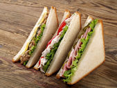 Fotografie Club sandwiches