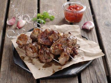 Grilled meat (kebab)