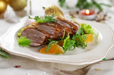 Roasted duck breast