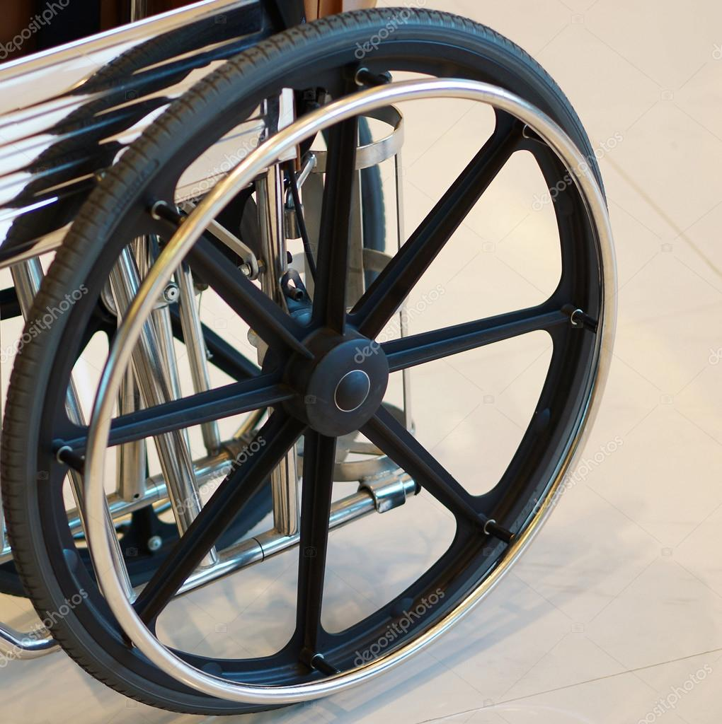 Wheel chair for handicapped persons — Stock Photo © ninuns #98685028