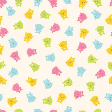 Set of vector design templates for baby holidays. Kids background, design elements with fish.