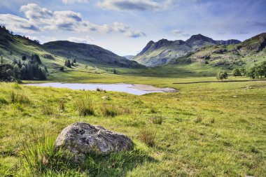 Blea tarn in the lake district