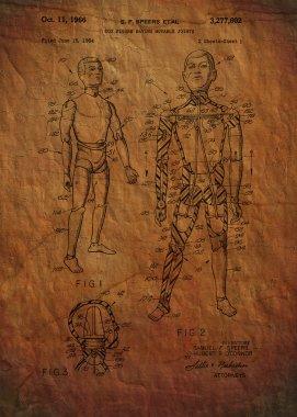 G.i. Joe Patent 1964 -