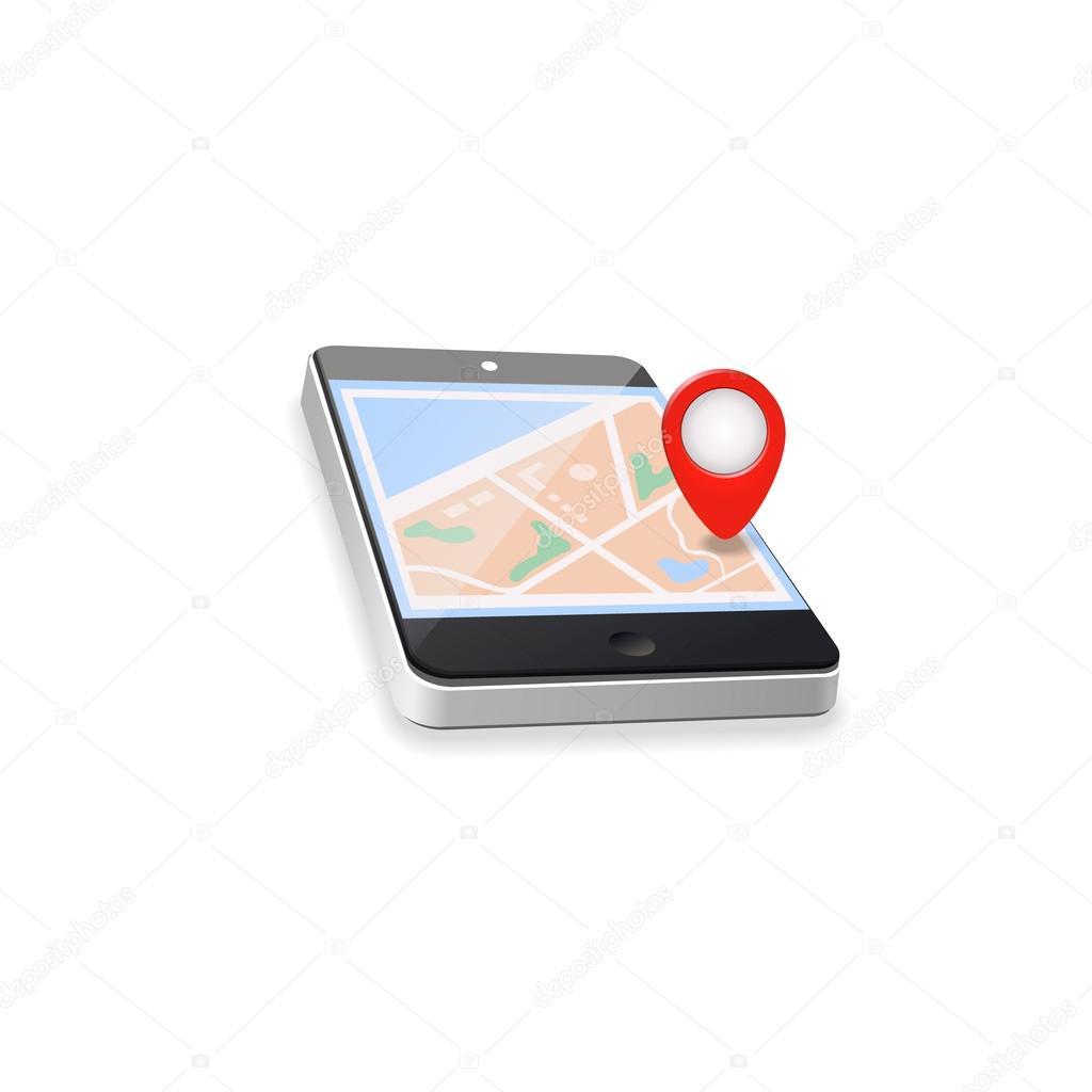 mapa sveta gps Mapa světa. GPS navigace. Mobilní telefon technologie koncepce  mapa sveta gps