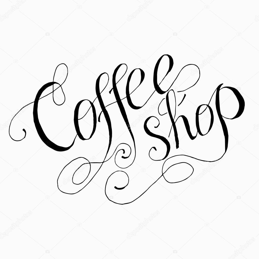 Vorlage von Coffee-shop — Stockvektor © Oligliya #62091211