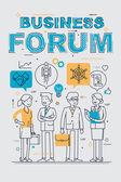 Üzleti fórum esemény