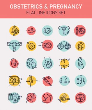 design icons on gynecology