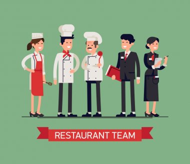 restaurant staff characters