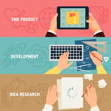 Concept  application development stages