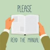 Manual reading recommendation.