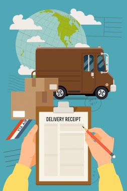 Worldwide delivery service