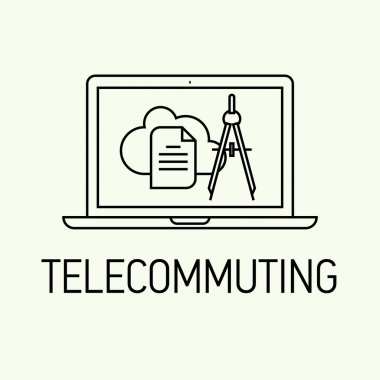 Telecommuting in business and industry.