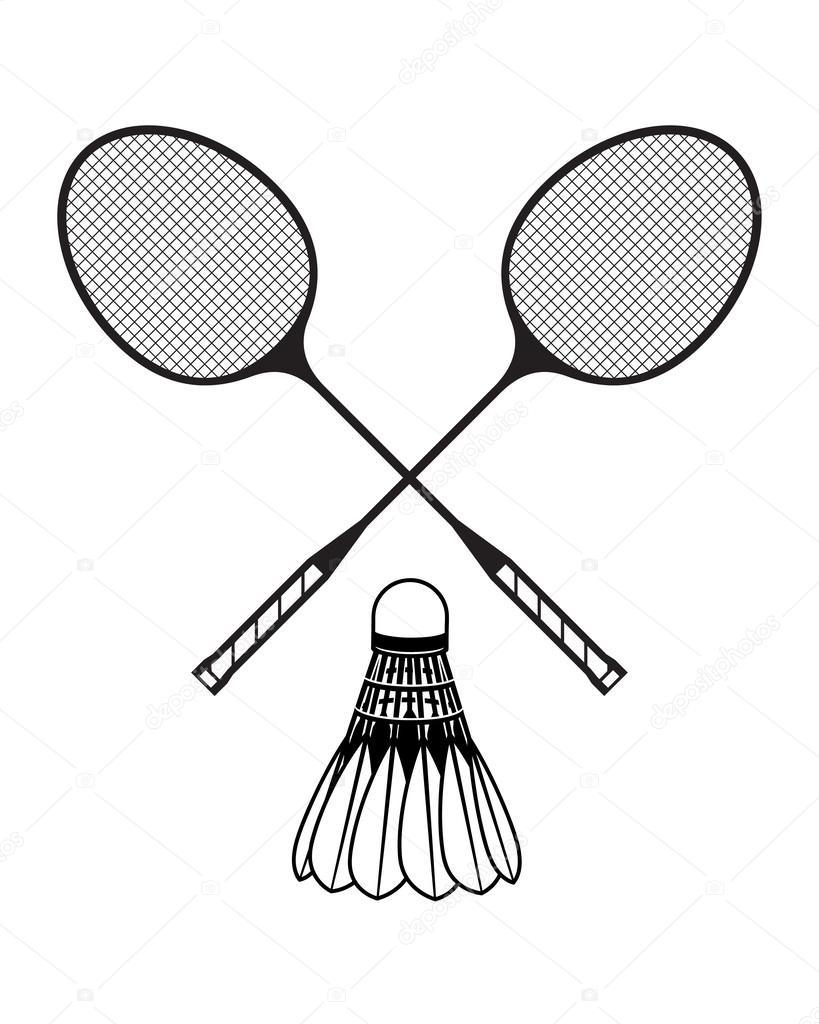 Dessin raquette badminton - Dessin raquette ...