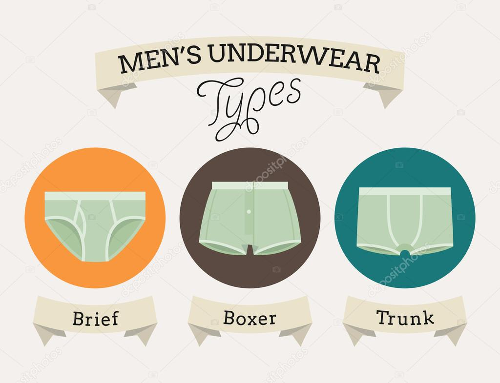underwear types — Stock Vector #60824753