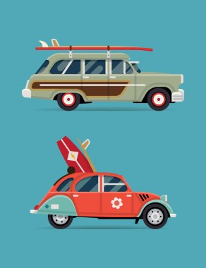 Design recreational vehicle icons