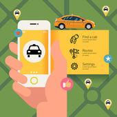 Telefon s taxi půjčovna