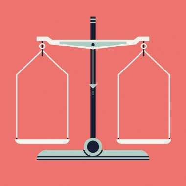 Balance scales measurement tool