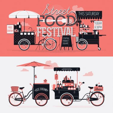 Street food festival event