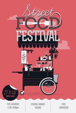 Street food festival event