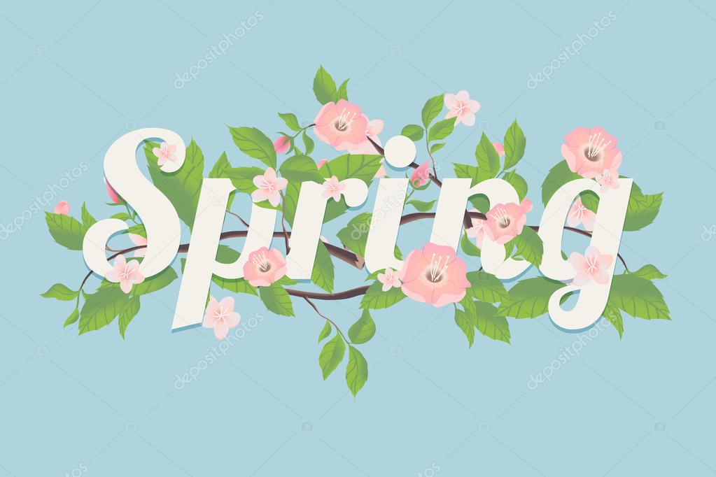 Spring season decoration