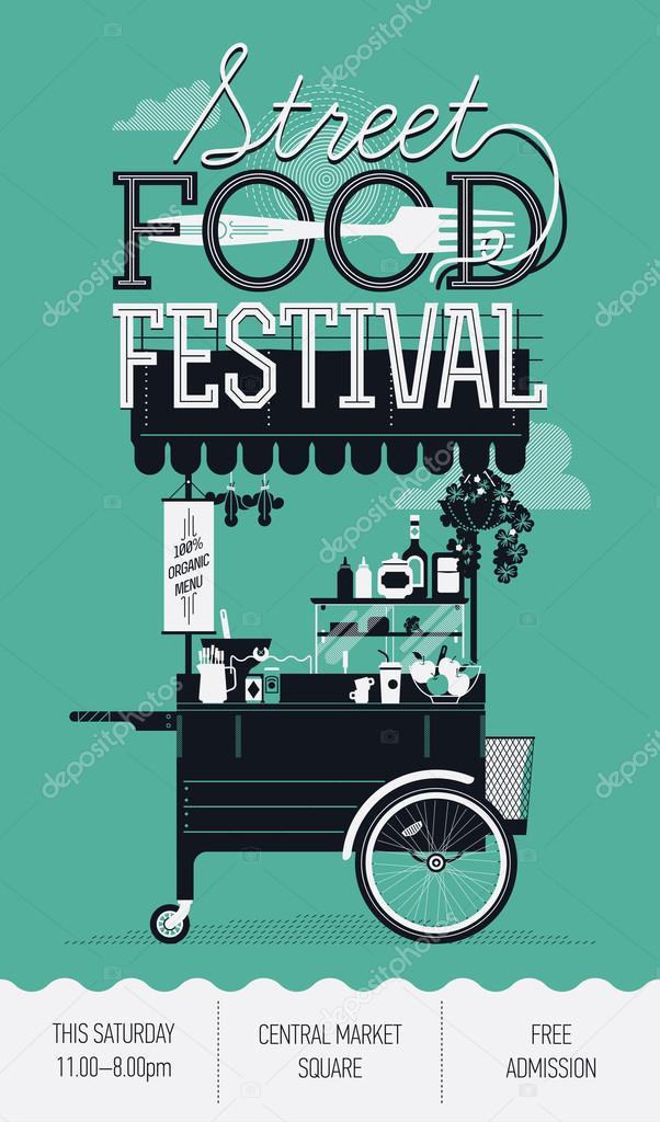 Retro  Street food festival