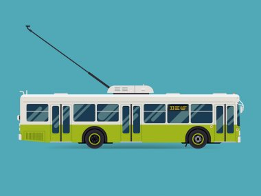 public transport trolleybus