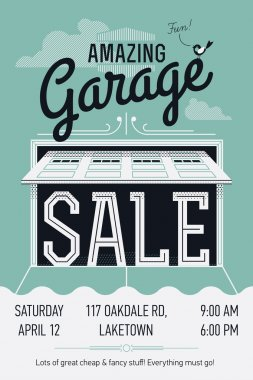 garage or yard sale event