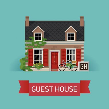 guest house in classic design
