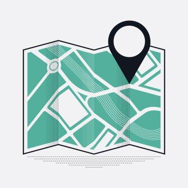 location mark on map