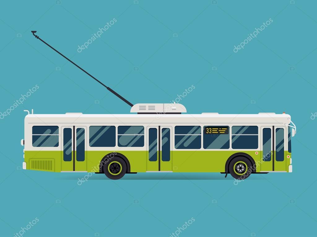 public transport trolleybus