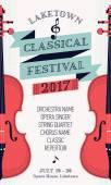 Fényképek Klasszikus zenei fesztivál poszter