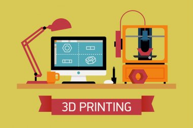 Cool concept of 3D printing