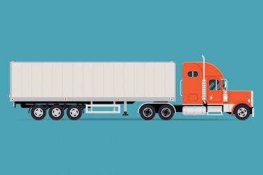 Cool semi-trailer truck