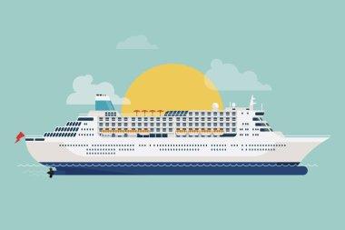 cruise transatlantic liner ship