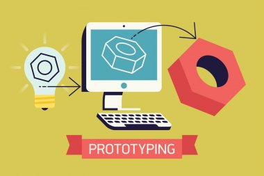 Cool prototyping process in industry