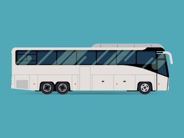 Tourist coach bus
