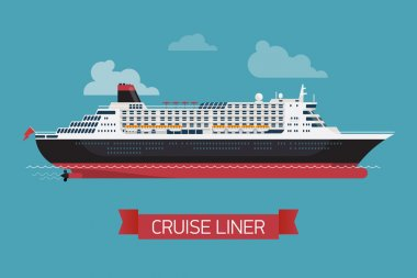 'Cruise liner' printable poster