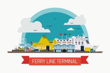 ferry line terminal